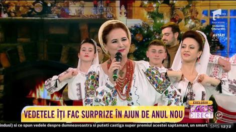 Margareta Clipa cântă senzațional în ultima zi din 2018