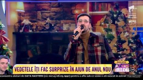 Liviu Teodorescu cântă senzațional în ultima zi din 2018