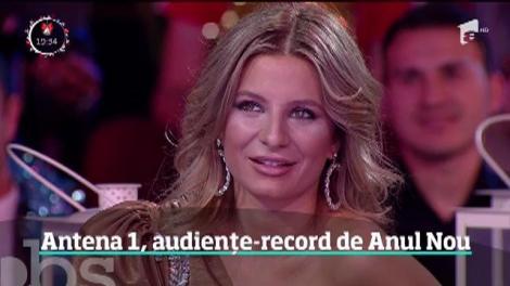 Antena 1, audiențe-record de Anul Nou