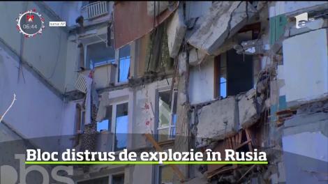 Revelion de groază în Rusia! Un bloc a fost distrus de o explozie! Bilanțul morților este în creștere - VIDEO