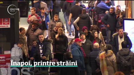Sute de români care au venit în ţară să-şi petreacă vacanţa au plecat înapoi la muncă, în străinătate