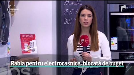 """Programul """"Rabla pentru electrocasnice"""", blocat de buget. Ce oferte au magazinele pentru cei care au vouchere"""