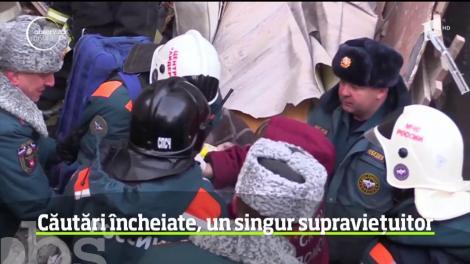 Operaţiunea de căutare a posibililor supravieţuitori în ruinele blocului prăbuşit în Rusia în Ajunul Anului Nou s-a încheiat