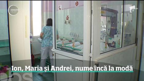 Românii se inspiră din tradiţie atunci când vine vorba despre bebeluşii lor. Numele de sfinţi sunt în topul preferinţelor
