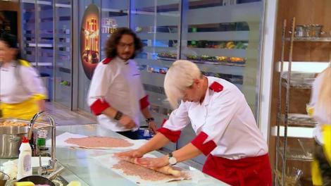 """Chef Florin Dumitrescu: """"Proba de astăzi a devenit un război personal al meu cu mine. Cu psihopatul din mine!"""""""