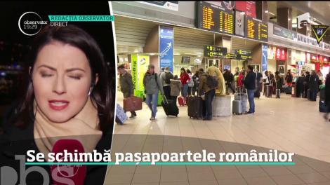 Românii vor avea paşapoarte noi. Ministerul de Interne schimbă forma, dar şi conţinutul actului de călătorie