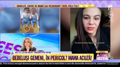 """Război crunt între o mamă și un spital din Bistrița! """"Mi-a spus să mă duc în salon, deoarece copilul mai are până moare"""""""