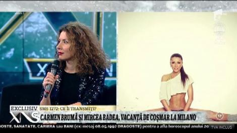 Carmen Brumă și Mircea Badea, vacanță de coșmar la Milano