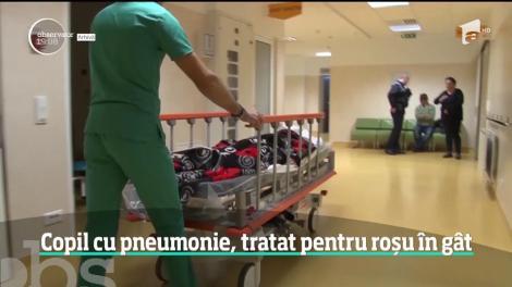 Noi acuzații de malpraxis în Vâlcea! O fetiţă de un an şi opt luni a ajuns în stare gravă la Bucureşti – VIDEO