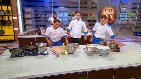 Nervi întinşi la maxim în bucătărie! Scărlătescu a ţipat la echipa lui, iar Silviu face pe şeful cu coechipierii săi!