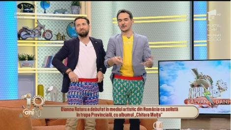 Răzvan și Dani, cele mai sexy modele de lenjerie intimă! Iată cum au defilat cei doi îndrăgiți prezentatori