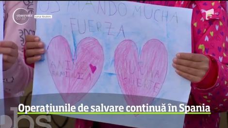 Spania este în continuare cu ochii pe operaţiunile de salvare în cazul copilului de 2 ani blocat într-un puţ în Malaga