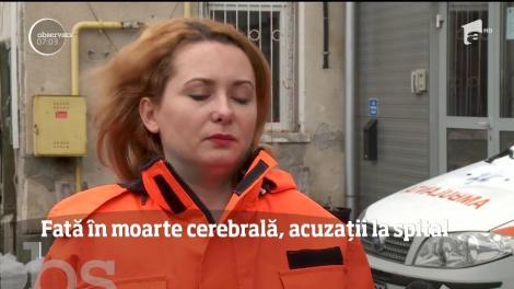 Părinţii unei tinere de 24 de ani, aflată în moarte cerebrală, cer anchetă la Spitalul Judeţean Sibiu
