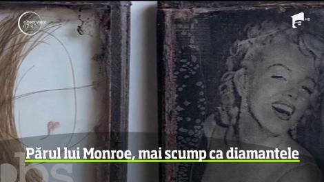 Licitaţie inedită peste ocean. O suviţă de păr din podoaba capilară a lui Marilyn Monroe se vinde pentru suma de 14.500 de eur