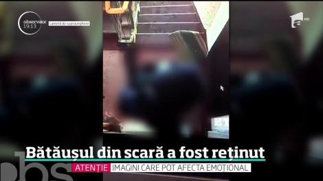 Recidivistul care a lovit cu brutalitate un bătrân în scara unui bloc din Galaţi a fost capturat