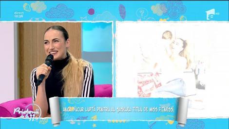 """Anca Bucur, miss fitness, și-a revenit spectaculos după naștere: """"Îmi doresc să câștig și anul acesta un premiu"""""""