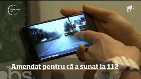 Imagini șocante filmate de un șofer. O ambulanţă fără niciun semnal, sonor sau luminos, la un pas să calce câțiva pietoni