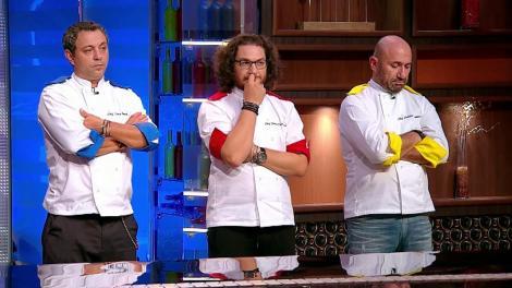 """Jurații au decis cei trei finaliști de la """"Chefi la cuțite"""": """"Nu cred așa ceva!"""""""