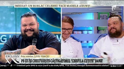 """Liviu Vârciu, idolul lui Mihai Munteanu, câștigătorul """"Chefi la cuțite"""""""