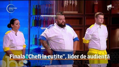 """El e Munti, câștigător """"Chefi la cuțite"""", sezon 6. """"Uriașul lui Bontea"""" a cucerit trofeul și publicul! Finala, lider de audiență"""