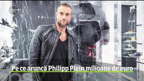 Philipp Plein este cunoscut ca unul dintre cei mai extravaganţi designeri