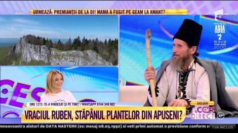 """Tu crezi în vorbele lui? Vraciul Ruben Stănilă, remediu pentru insomnie: """"Păducel este cel mai bun"""""""