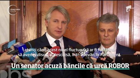 Creşterea spectaculoasă a ROBOR şi creşterea ratelor românilor au ajuns subiect de dezbatere în Parlament