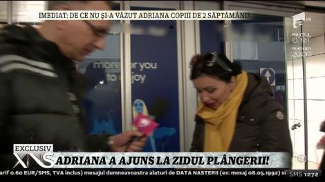 Adriana Bahmuţeanu a ajuns la Zidul Plângerii! A fost în Israel pentru a-şi regăsi liniştea!