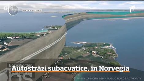Norvegienii au găsit o metodă ingenioasă pentru a reduce timpul petrecut în trafic: construirea unui tunel rutier subacvatic