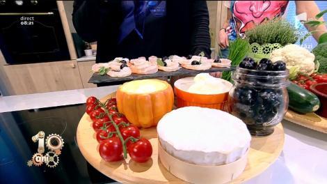 Rețeta zilei: Tartă de Provence. Un deliciu cu foietaj, multe legume și creveți.