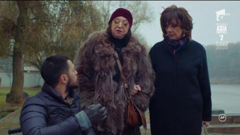 Alex, ajutat de Doina și Roxana să fugă de acasă