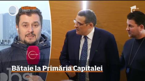 Viceprimarul Capitalei, Aurelian Bădulescu şi primarul Sectorului 6, Gabriel Mutu, s-au luat la bătaie la şedinţa Consiliului Municipal!