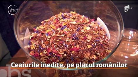 Ceaiurile inedite, pe placul românilor
