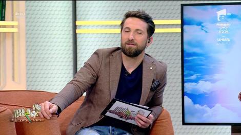 """Răzvan face glume la adresa colegului său. Dani: """"Eu, în redacție, am fost votat plosca echipei"""""""