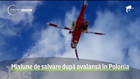 Operaţiune de salvare impresionantă pe cel mai înalt vârf din Polonia