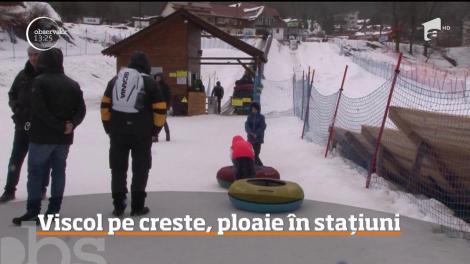 În cazul în care plănuiţi o ieşire la munte zilele acestea, trebuie să ştiti că vremea nu este deloc indicată pentru schiat sau drumeţii