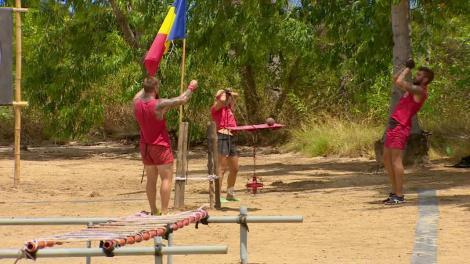 """Jocul de salvare - """"Stai în cumpănă""""! Echipa galbenă câştigă, iar crocodilii întră la """"nominalizare"""""""
