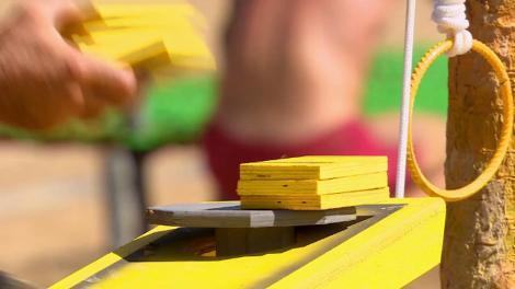 """""""Construieşte turnul din Pisa"""" - jocul de la proba de nominalizare! Alex intră la duel!"""