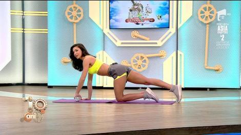 Fitness la Neatza cu Diana Stejereanu. Exerciții pentru brațe cu ajutorul unei sticle cu apă