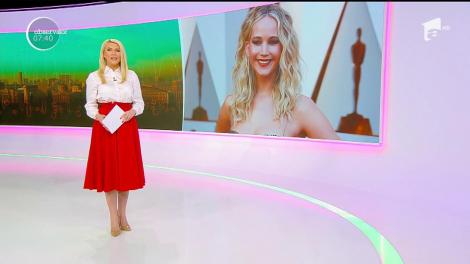 Actriţa americană Jennifer Lawrence s-a logodit cu directorul unei galerii de artă din New York