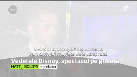 """Cele mai îndrăgite personaje Disney strălucesc zilele acestea pe gheaţă, la Bucureşti, în spectacolul fenomen """"Disney on Ice - Reach for the Stars"""""""