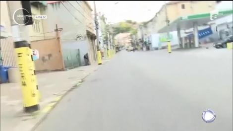 Lupte de stradă cu traficanții, la Rio de Janeiro