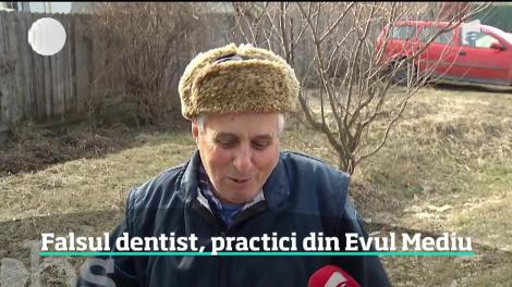 Povestea zidarului care a devenit dentistul satului se complică. Anchetatorii l-au lăsat în libertate