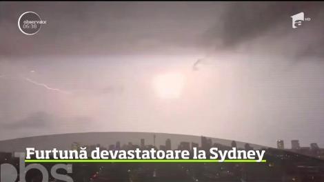 Ploaia torenţială şi rafalele de vânt au lăsat mii de case fără curent electric, în Australia