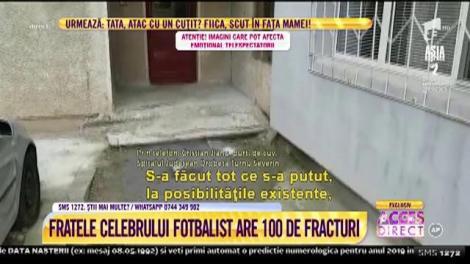Accident sau tentativă de sinucidere? Fratele lui Mirel Rădoi, în stare gravă la spital, după ce a fost găsit prăbuşit la pâmânt!