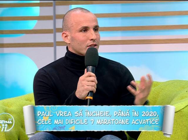 """Paul Georgescu, românul care rezistă cel mai mult în apă rece ca gheața, dezvăluiri incredibile: """"Totul este mental"""""""