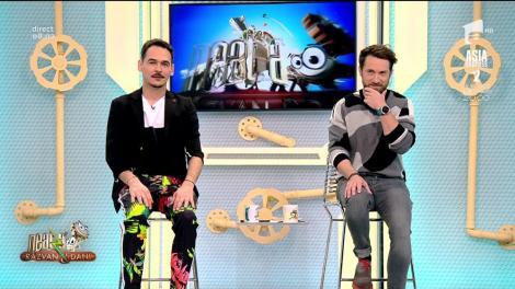 """Pantalonii lui Răzvan, motiv de glume pentru Dani: """"Sunt OK, dar până la 13 ani"""" - Video"""