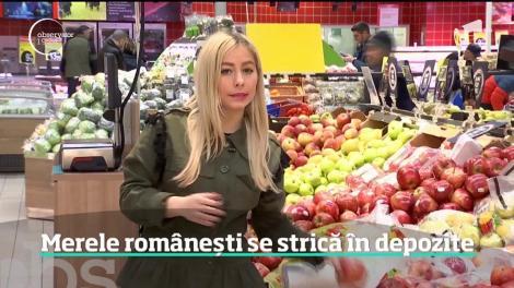 Merele românești se strică în depozite