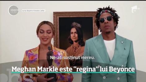 """Meghan Markle, """"regina"""" lui Beyonce. Cel mai controversat moment de la gala Brit Awards"""