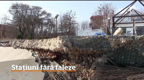Litoralul românesc îşi pierde falezele încet dar sigur. Ce se întâmplă în Costinești